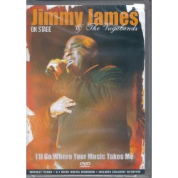 JIMMY JAMES & THE VAGABONDS - `ll go where your music takes me dvd