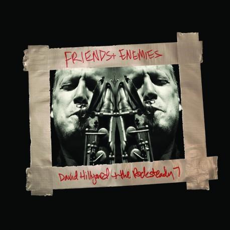 PRE-ORDER - DAVID HILLYARD & THE ROCKSTEADY 7 - Friends & Enemies - CD