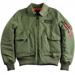 Flight Jacket CWU VF TT Bomber - VERDE