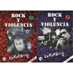ESKORBUTO: Rock y Violencia - Vol. 1 + Vol. 2 - Roberto  Ortega - Libro