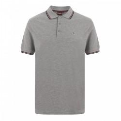 Merc CARD Polo Shirt Short Sleeved MINERAL / MARL