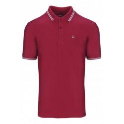 Merc CARD Polo Shirt Short Sleeved CLARET / HARMONY