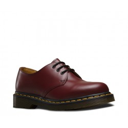 Dr. Martens 3 Eyelet Shoes 1461 59 Smooth - CHERRY RED