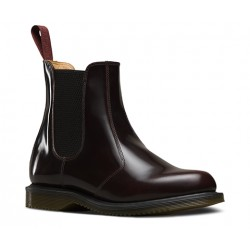 Chelsea Boot Dr. Martens Flora Arcadia - CHERRY RED