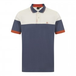 Merc KRUGER Polo Shirt Short Sleeved DARK BLUE