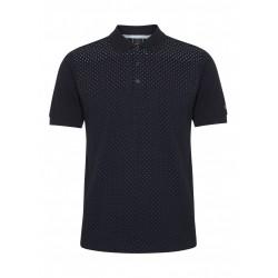 Merc GENERAL Polo Shirt Short Sleeved BLACK
