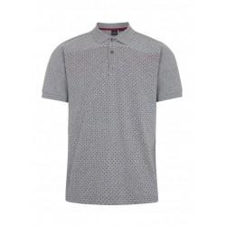 Merc GENERAL Polo Shirt Short Sleeved GREY MARL