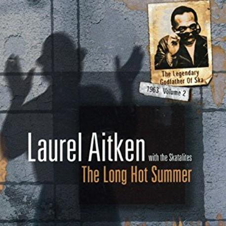 LAUREL AITKEN WITH THE SKATALITES - The Long Hot Summer: 1963 Volume 2 - LP