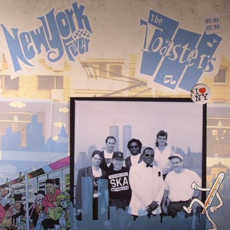 THE TOASTERS - New York Fever - LP