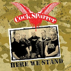COCK SPARRER - Here We Stand - LP
