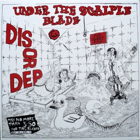 DISORDER - Under The Scalple Blade - LP