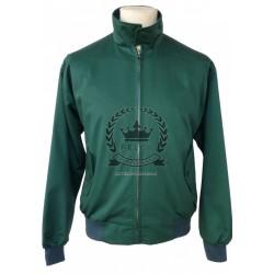 Harrington  Jacket - BOTTLE GREEN
