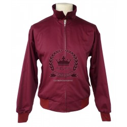 Harrington  Jacket - BURGUNDY
