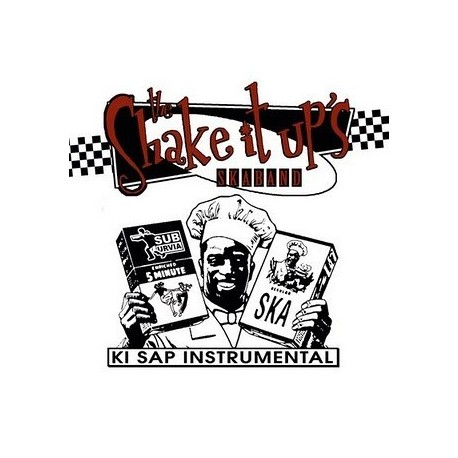 the SHAKE IT UP'S - Ki Sap Instrumental - CD