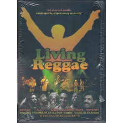 VA - LIVING REGGAE  - 2DVD + CD