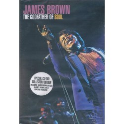JAMES BROWN - The Godfather Of Soul - CD+DVD