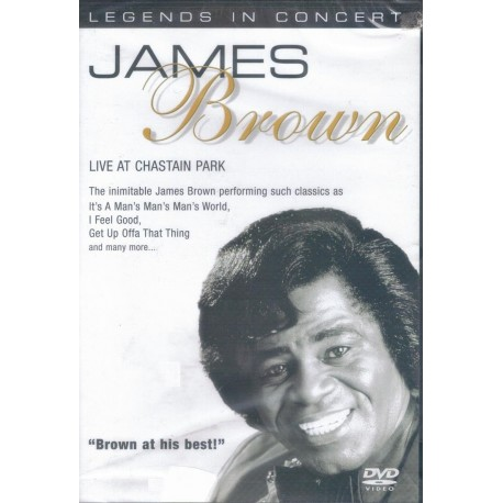 JAMES BROWN - Live at Chastain park - DVD