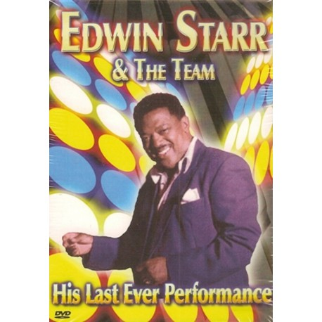 EDWIN STARR & THE TEAM - His Last Ever Performance - DVD
