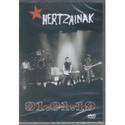 HERTZAINAK - Zuzenean 91.01.19 dvd