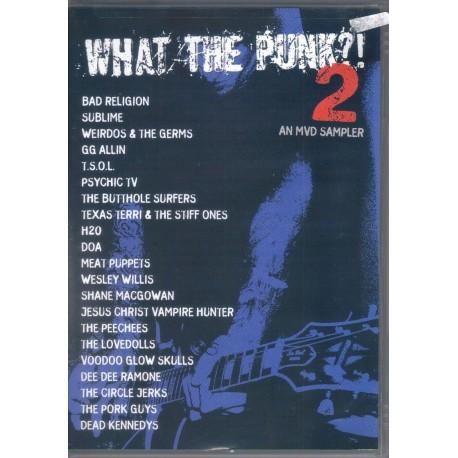 V/A - What the punk?! 2 an MVD sampler dvd