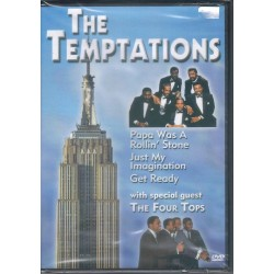 THE TEMPTATIONS -  With Special Guest The Four Tops - DVD
