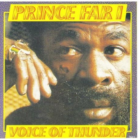 PRINCE FAR I - Voice of thunder CD