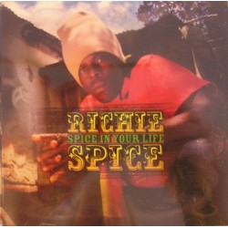 RICHIE SPICE - Spice in your live CD