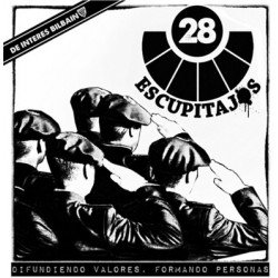 28 ESCUPITAJOS - Difundiendo Valores Formando Personas - LP+CD