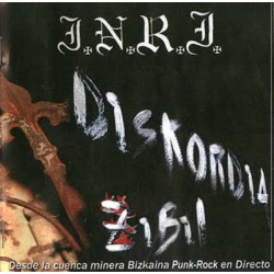 I.N.R.I. - Diskordia Zibil - CD