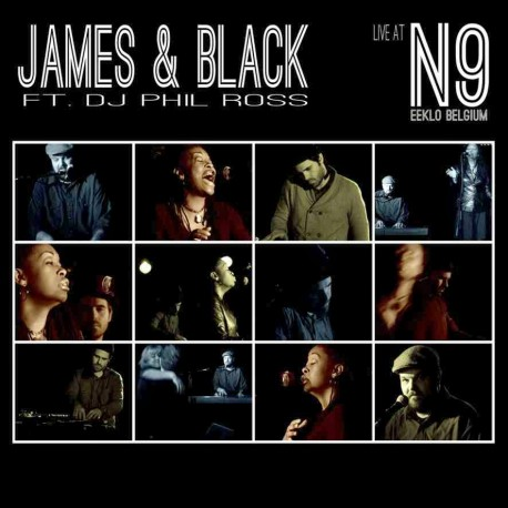 JAMES & BLACK - Live at N9 - CD