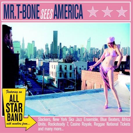 MR. T-BONE - Sees America - CD