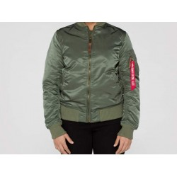 Flight Jacket GIRL MA-1 Bomber - SAGE GREEN