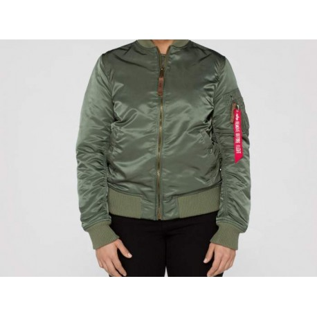 Flight Jacket CHICA MA-1 VF 59 Bomber - VERDE