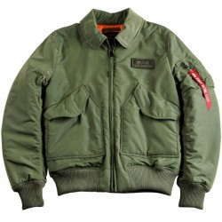 Flight Jacket CWU VF TT Bomber - VERDE