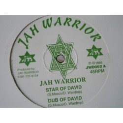 JAH WARRIOR - Vampire / Dub - Star of david / Dub 12""