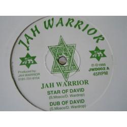"""JAH WARRIOR - Vampire / Dub - Star of David / Dub - 12"""""""