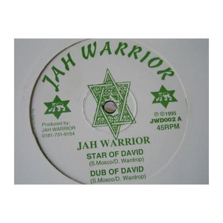 """JAH WARRIOR - Vampire / Dub - Star of david / Dub 12"""""""