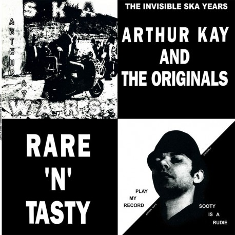 ARTHUR KAY AND THE ORIGINALS - Rare `N`Tasty -  LP