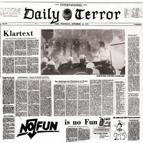DAILY TERROR - Klartext - EP