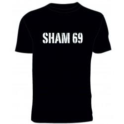 Camiseta Sham 69 (negro)