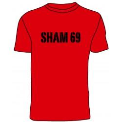 Camiseta Sham 69 (rojo)