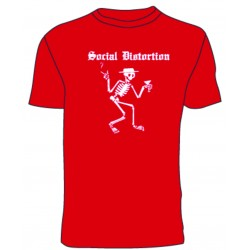 Social Distortion (red) T-shirt
