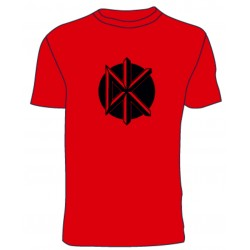 Camiseta Dead Kennedys (rojo)