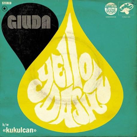 """GIUDA - Yellow Dash - 7"""""""