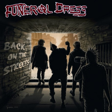 FUNERAL DRESS - Back on the Streets - 7""