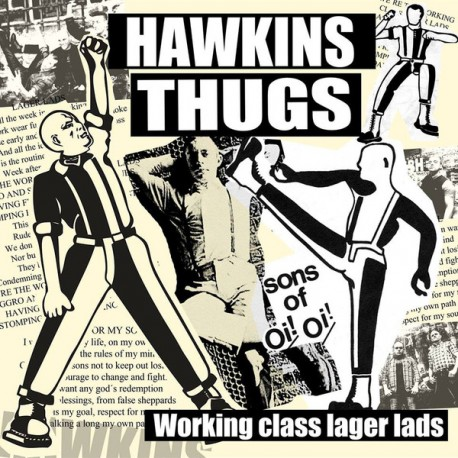 HAWKINS THUGS ‎– Working Class Lager Lads - EP