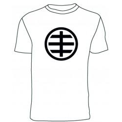Camiseta Hüsker Dü logo (blanco)