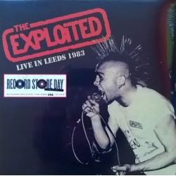 THE EXPLOITED - Live In Leeds 1983 - LP