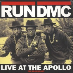 RUN DMC - Live At The Apollo 1987 - FM Broadcast - LP