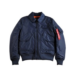 Flight Jacket CWU VF TT Bomber - AZUL